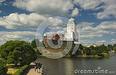 St Olaf castle in Vyborg