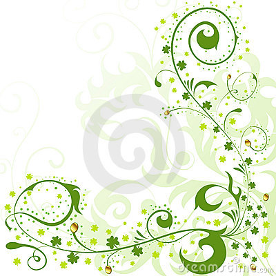 St. Patrick Day Border Royalty Free Stock Photos - Image: 18488268