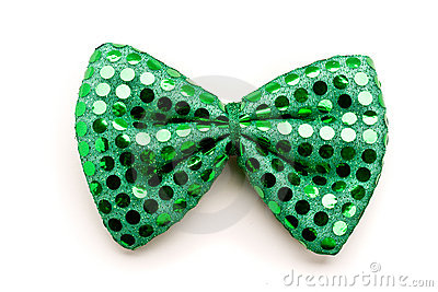 St. Patrick Day bow tie