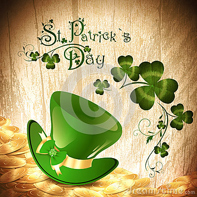 St.Patrick holiday background