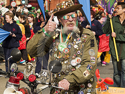 St Patrick Parade Editorial Photo