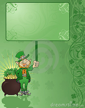 Free St. Patrick S Background Stock Images - 1879764