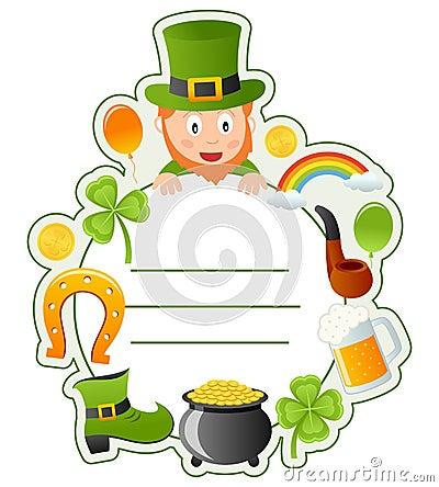 St. Patrick s Book Cover Frame