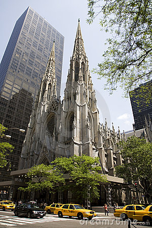 St. Patrick s Cathedral Editorial Photo