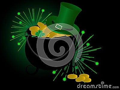 St.Patrick s cauldron