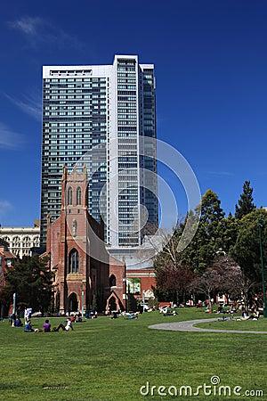 St.Patrick s Church,San Francisco Editorial Stock Image