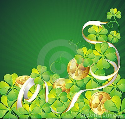 St. Patrick s Day background