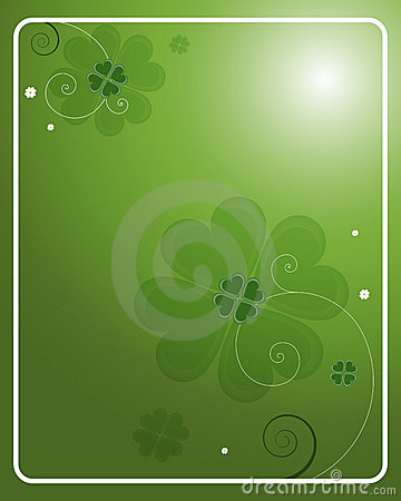 St. Patrick s Day background - vector