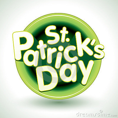 St. Patricks Day Badge