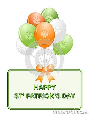 St. Patrick s day balloons