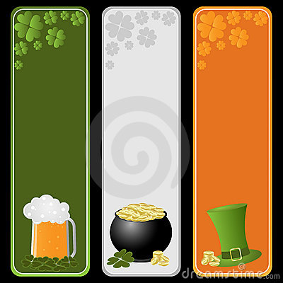 St. Patricks day banners