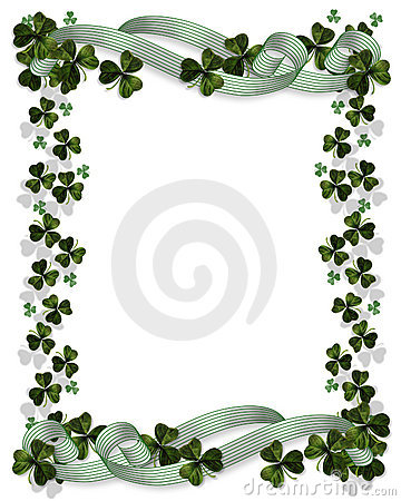 Free St Patrick S Day Border Stock Photos - 7578643