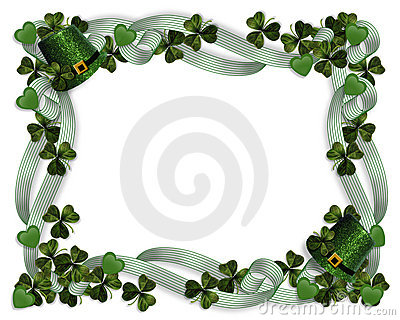 St Patrick s Day Border