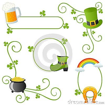 St. Patrick s Day Borders