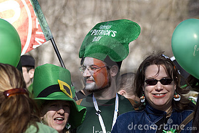 St. Patrick s Day, Budapest, Hungary Editorial Photography