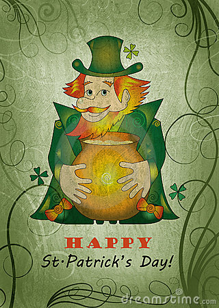 St.Patrick s Day card