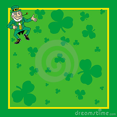 St. Patrick s Day card invite