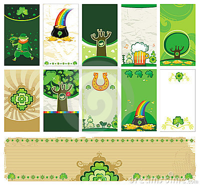 Free St. Patrick S Day Cards Stock Image - 8085581