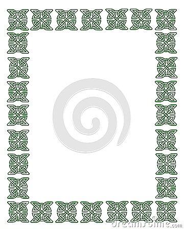 St Patrick s Day Celtic Knot Frame