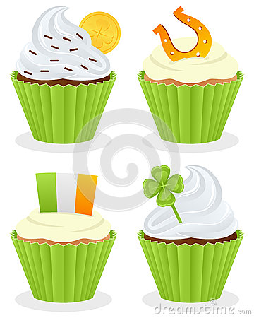 St. Patrick s Day Cupcakes Collection