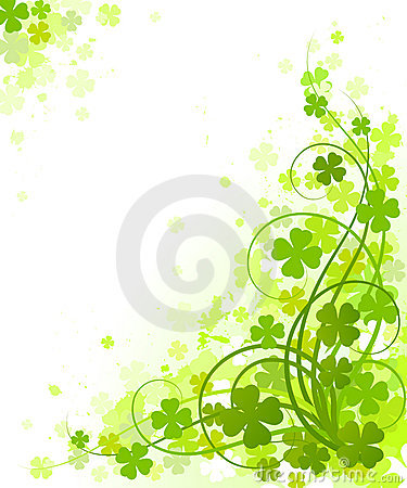 Free St. Patrick S Day Design. Royalty Free Stock Image - 4445536