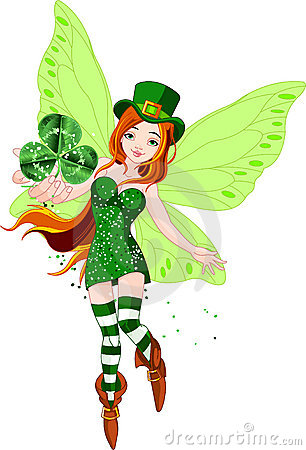 Free St. Patrick S Day Fairy Stock Photography - 18590612