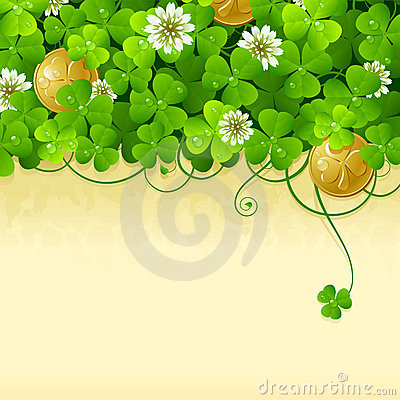 Free St. Patrick S Day Frame 2 Royalty Free Stock Images - 18545009