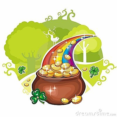Free St. Patrick S Day Greeting Card Royalty Free Stock Photography - 18608537