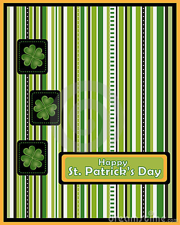 St Patrick s day greeting card - vector
