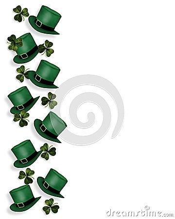 Free St Patrick S Day Hats And Shamrocks Stock Image - 4399081