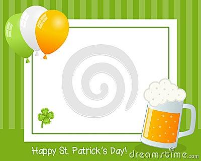 St. Patrick s Day Horizontal Frame