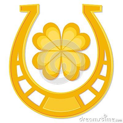 St Patrick s Day horseshoe