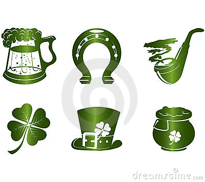 Free St. Patrick S Day Icons Stock Image - 10170481
