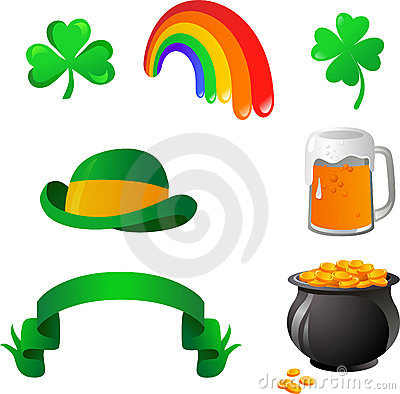 St. Patrick s day icons