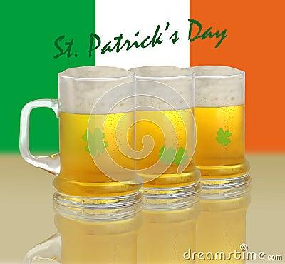 St Patrick s day illustration