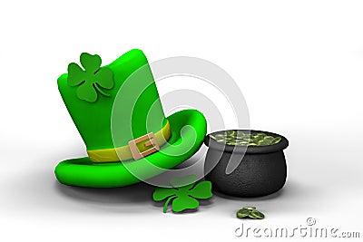 St. Patrick s Day leprechaun hat