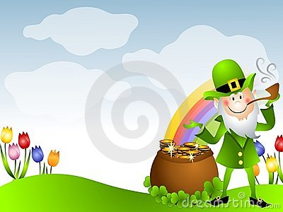 St. Patrick s Day Leprechaun Pot of Gold