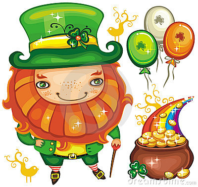 St. Patrick s Day  leprechaun series 2