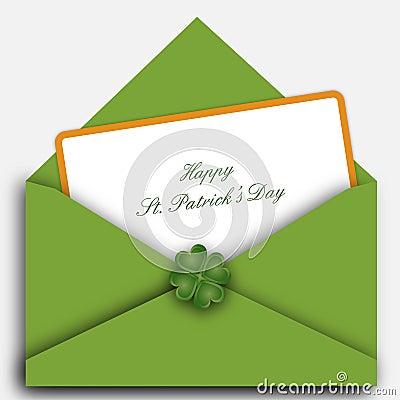 St. Patrick s day letter