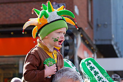 St. Patrick s Day in Limerick Editorial Photography