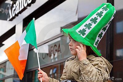 St. Patrick s Day in Limerick Editorial Photo