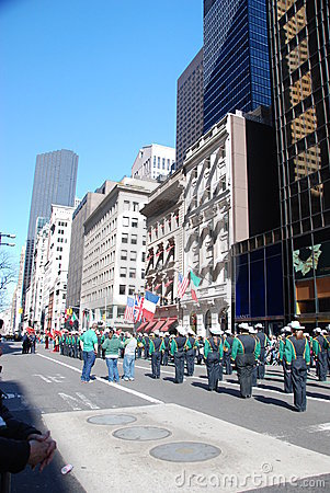 St. patrick s day in new york Editorial Stock Photo