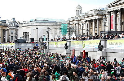 St Patrick's Day Parade. Royalty Free Stock Image - Image: 13499966