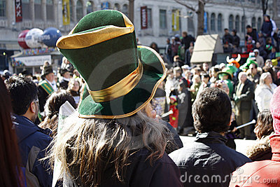 St. Patrick s Day Parade Editorial Photography