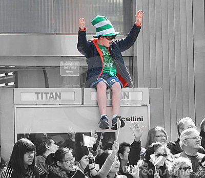 St.Patrick s Day Parade Editorial Stock Photo