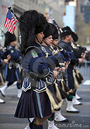 St. Patrick s Day Parade Editorial Stock Image
