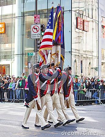 St. Patrick s Day Parade Editorial Photo