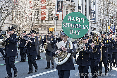 St. Patrick s Day Parade in NYC Editorial Photo