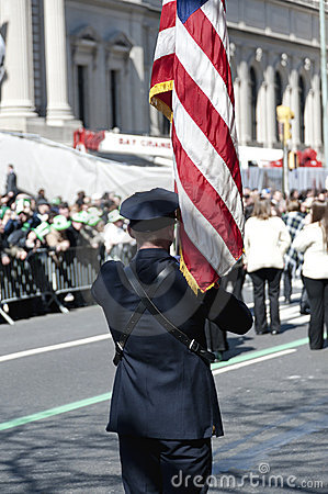 St. Patrick s Day Parade in NYC Editorial Stock Photo
