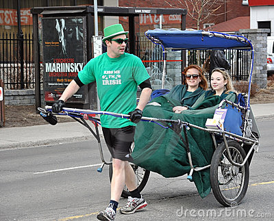 St. Patrick s Day Parade Ottawa Editorial Photography